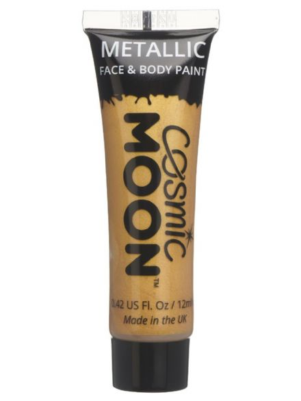 Cosmic Moon Metallic Body & Face Paint in Gold
